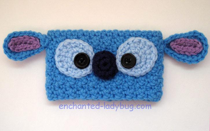 Free Crochet Stitch Coffee Cup Cozy Pattern