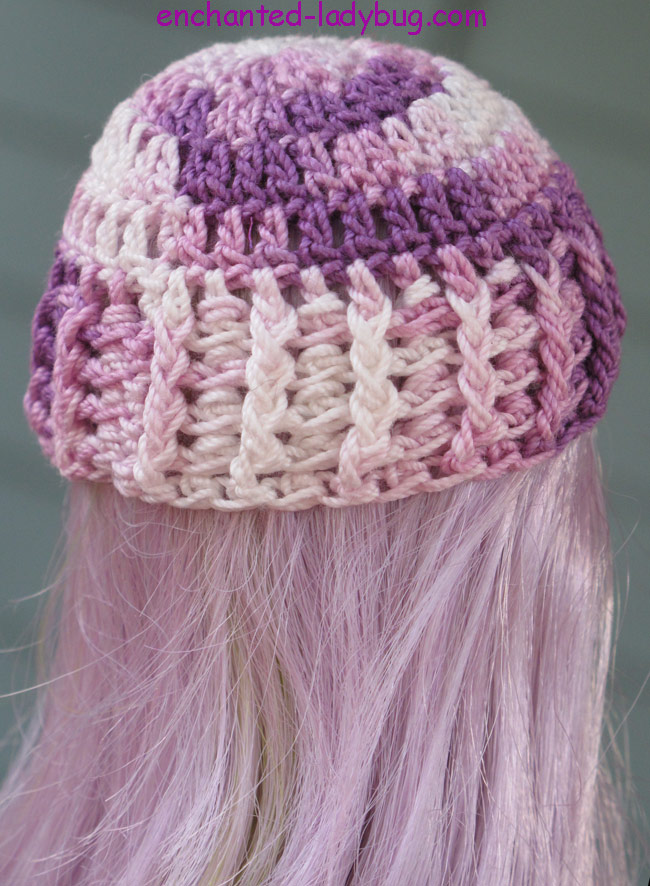 Free Crochet Monster High Hat Pattern