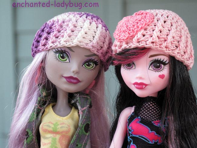 Free Crochet Monster High Hat Pattern