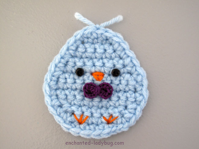 Free Crochet Kawaii Spring Chick Pattern