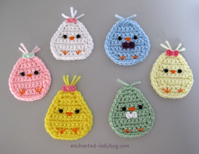 Free Crochet Kawaii Spring Chick Pattern