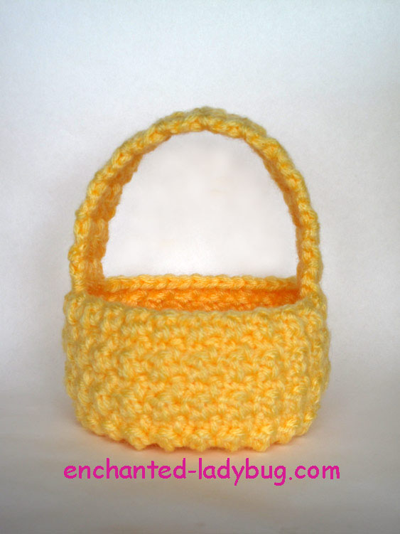 Free Pattern Crochet Easter Basket : Free Crochet Easter Basket Pattern