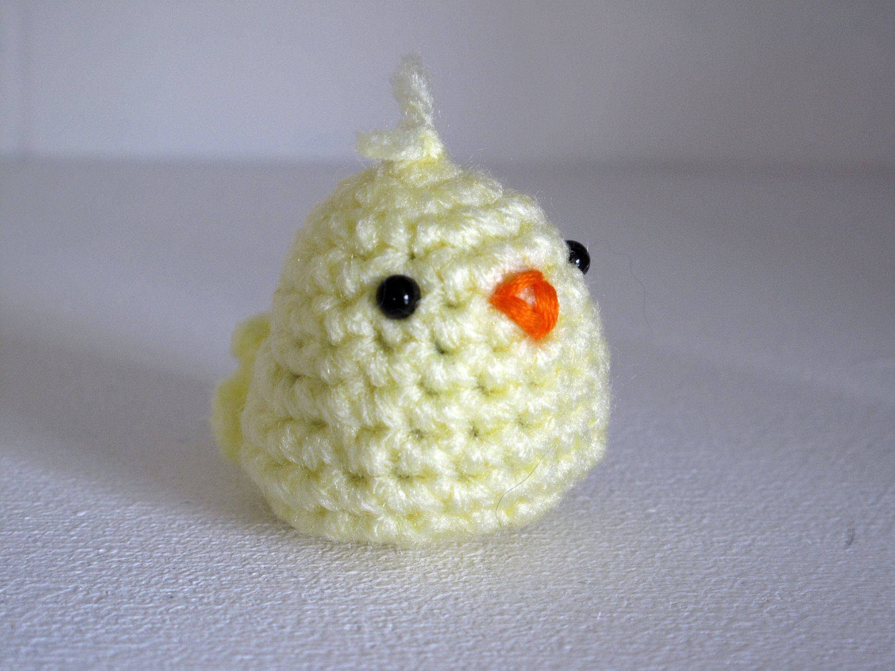 Amigurumi Baby Chicks : Free Crochet Amigurumi Chick Pattern