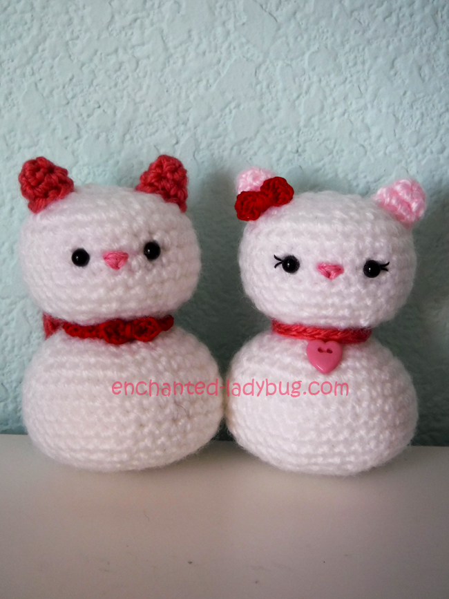 Egg-shaped Cat Free Crochet Softies Amigurumi Pattern ⋆ Crochet ... | 867x650