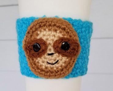 free-crochet-sloth-cup-cozy-pattern