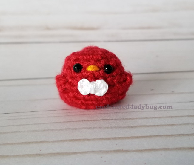 Free Crochet Amigurumi Valentine Mochi Birds Felicia and Frisco Pattern